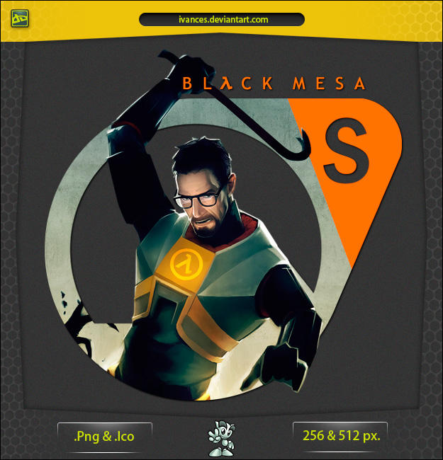 Black Mesa Source - ICON by IvanCEs