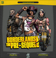 Borderlands The Pre-sequel - ICON v1