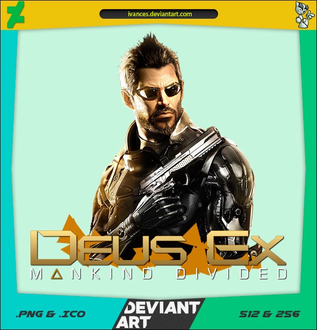 Deus Ex Mankind Divided - ICON (UPDATED) by IvanCEs