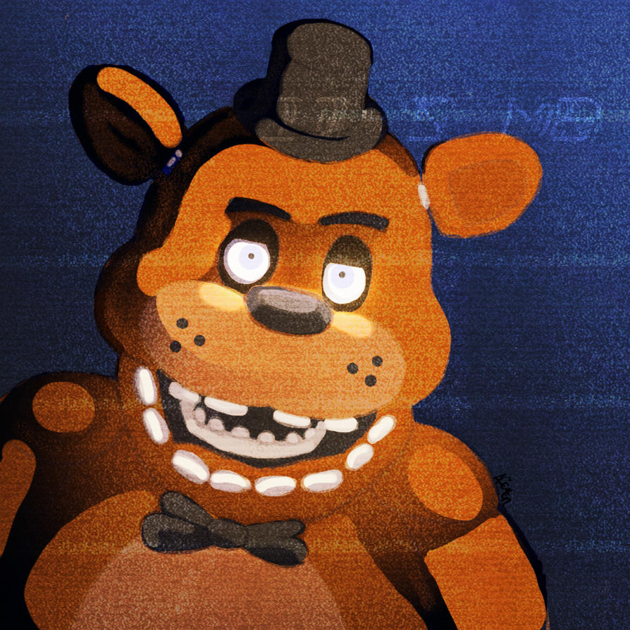 Freddy Fazbear by Wolfercrow