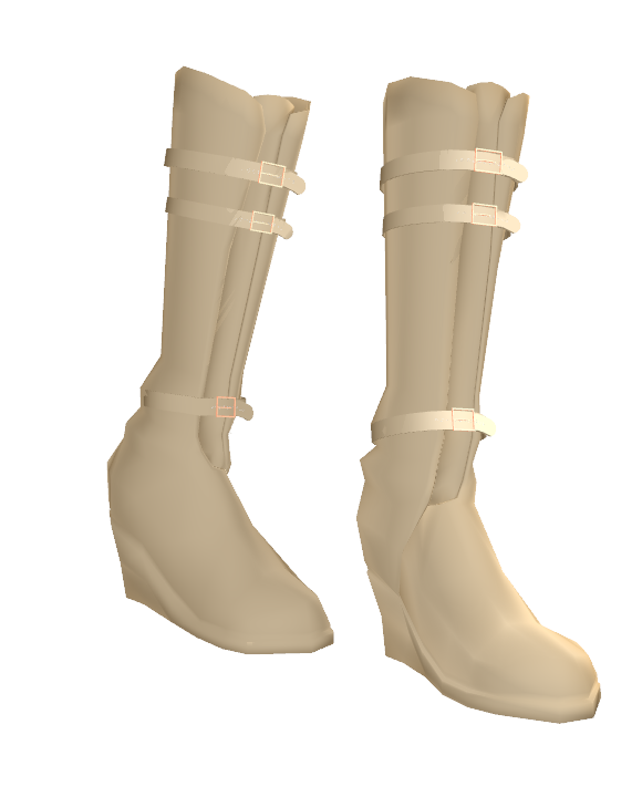 MMD Buckle Boots DL by Theshadowman97