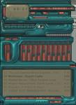 bluish-green whale amp