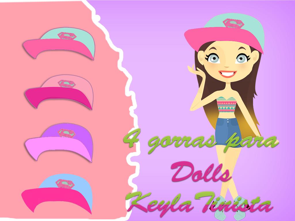 Gorras para Dolls by KeylaTinista