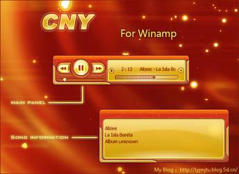 CNY for winamp by lypnjtu