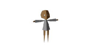 Low Poly Character Base