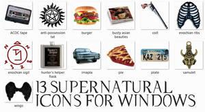 Supernatural Dock Icons