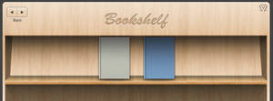 Facebook Wood Shelf cover +PSD