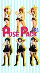 [MMD] Pose Pack 3 DL