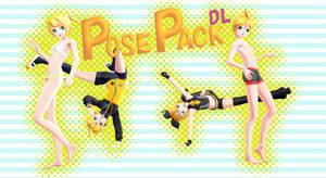 [MMD] Pose Pack 4 DL
