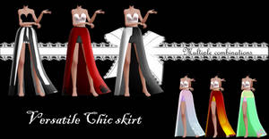 Versatile chic skirt DOWNLOAD DL by HoshichoM