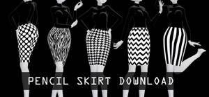 Pencil skirt download dl