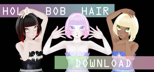 Holo Bob Hair DOWNLOAD DL