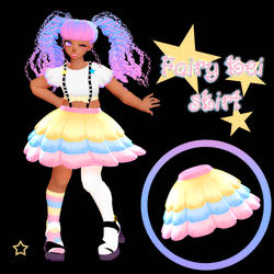Fairy kei skirt DOWNLOAD DL for MMD