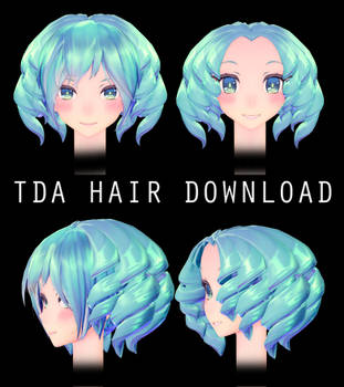 DL Tda + Predator Hair download by HoshichoM