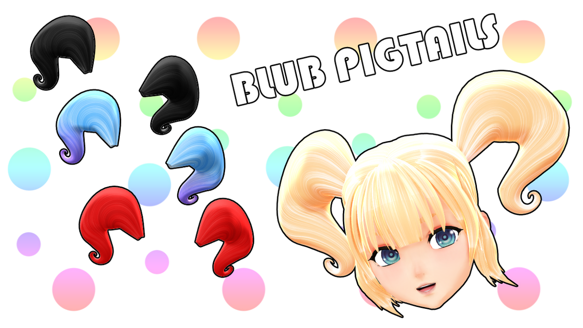 MMD DL : Blub pigtails download by HoshichoM
