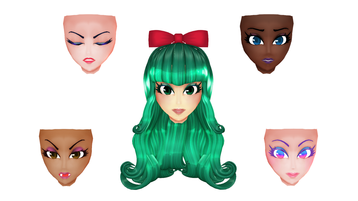 MMD Montecore Head edit DOWNLOAD by HoshichoM on DeviantArt