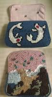Koi and Tree purse