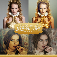 Golden Age - PSD #2 by Whisper-Voo