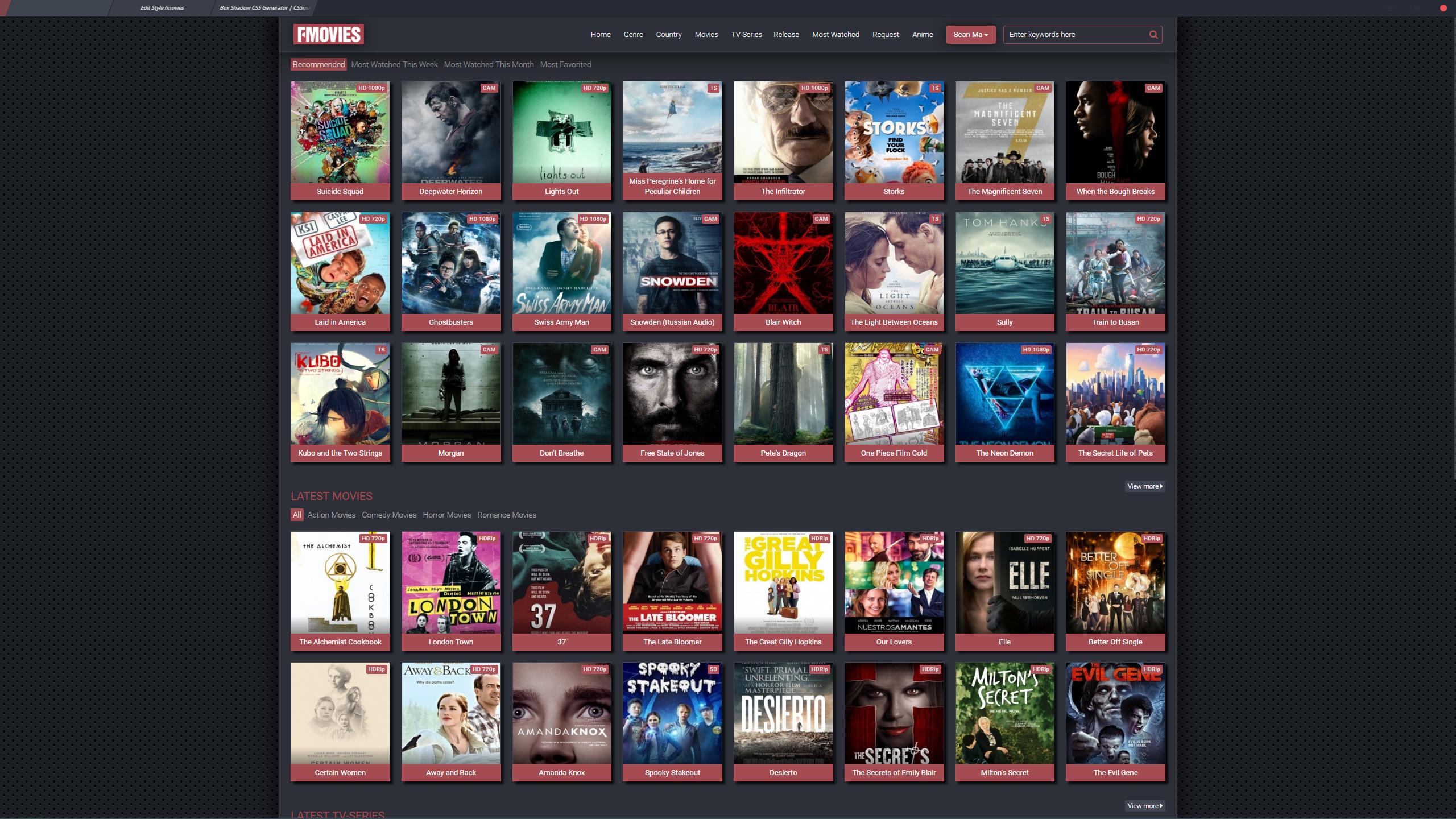 Fmovies -  Stylish Theme For Fmovies To By Wiiija
