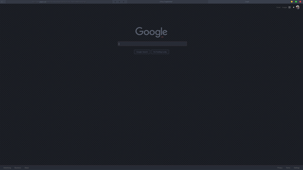 Google themes with stylish - Google Dark Remix Stylish Theme By Wiiija