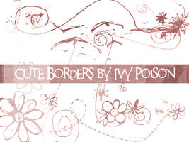 Cute Borders by ivy-poison