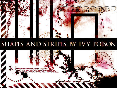 Shapes and Stripes by ivy-poison