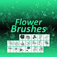 +Flower Brushes by Somethingreat