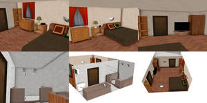 [MMD] Hotel room (download)