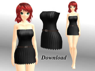 [MMD] Short dress [download] by Wampa842