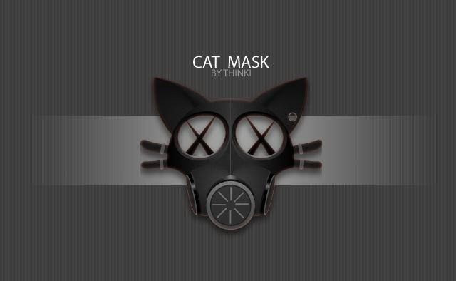 Cat Mask by vivi2cata