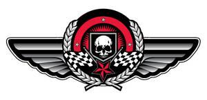 Skull-Wings logo
