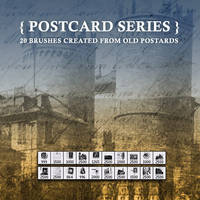 Post Card Brushes - Set II by dubtastic