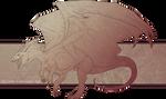 FREE DragonLineart