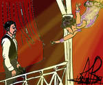 Ask game AU, Merandette The Greatest Showman style