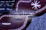 Digimon Frontier Digicode Brush Set