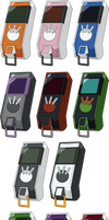 Digimon Savers/Next - All Digivice iC HD + Lines
