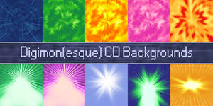 Digimonesque CD Background Ressources
