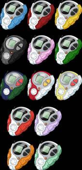 D-3 Digivices HD - Digimon Adventure tri. Version