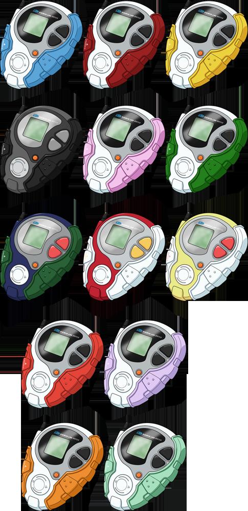 D-3 Digivices HD - Digimon Adventure tri. Version by NelaNequin