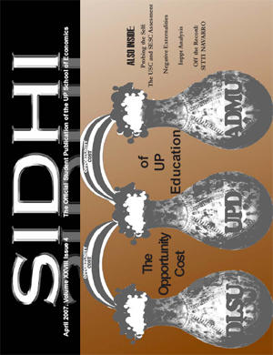 Fourth Issue, Second Sem by sidhi