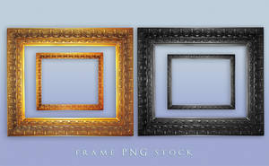 Frame png Stock