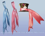 Hat of Mad Hatter and Ribbon png