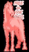 F2U Horse Template