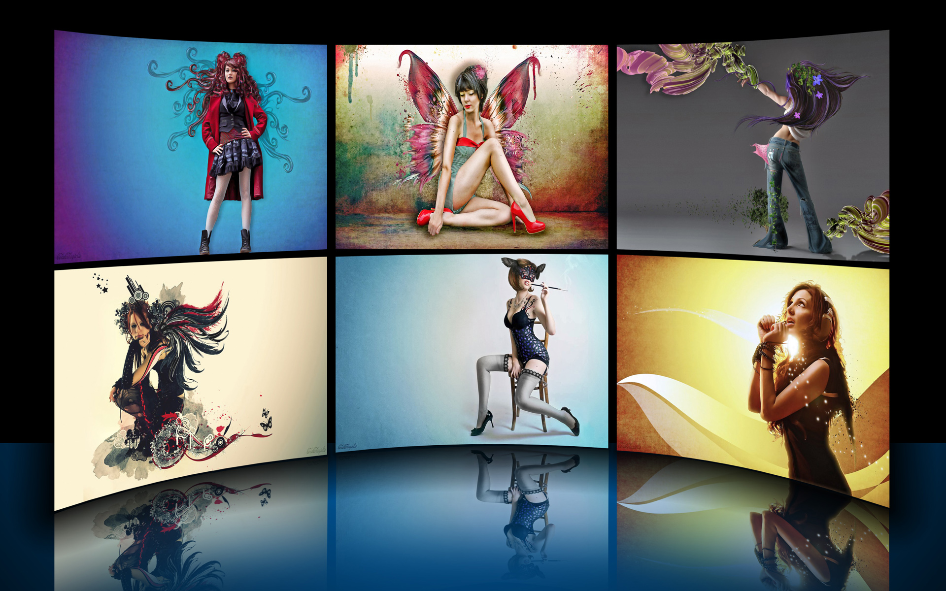 Graphic Divas Theme by iDR3AM