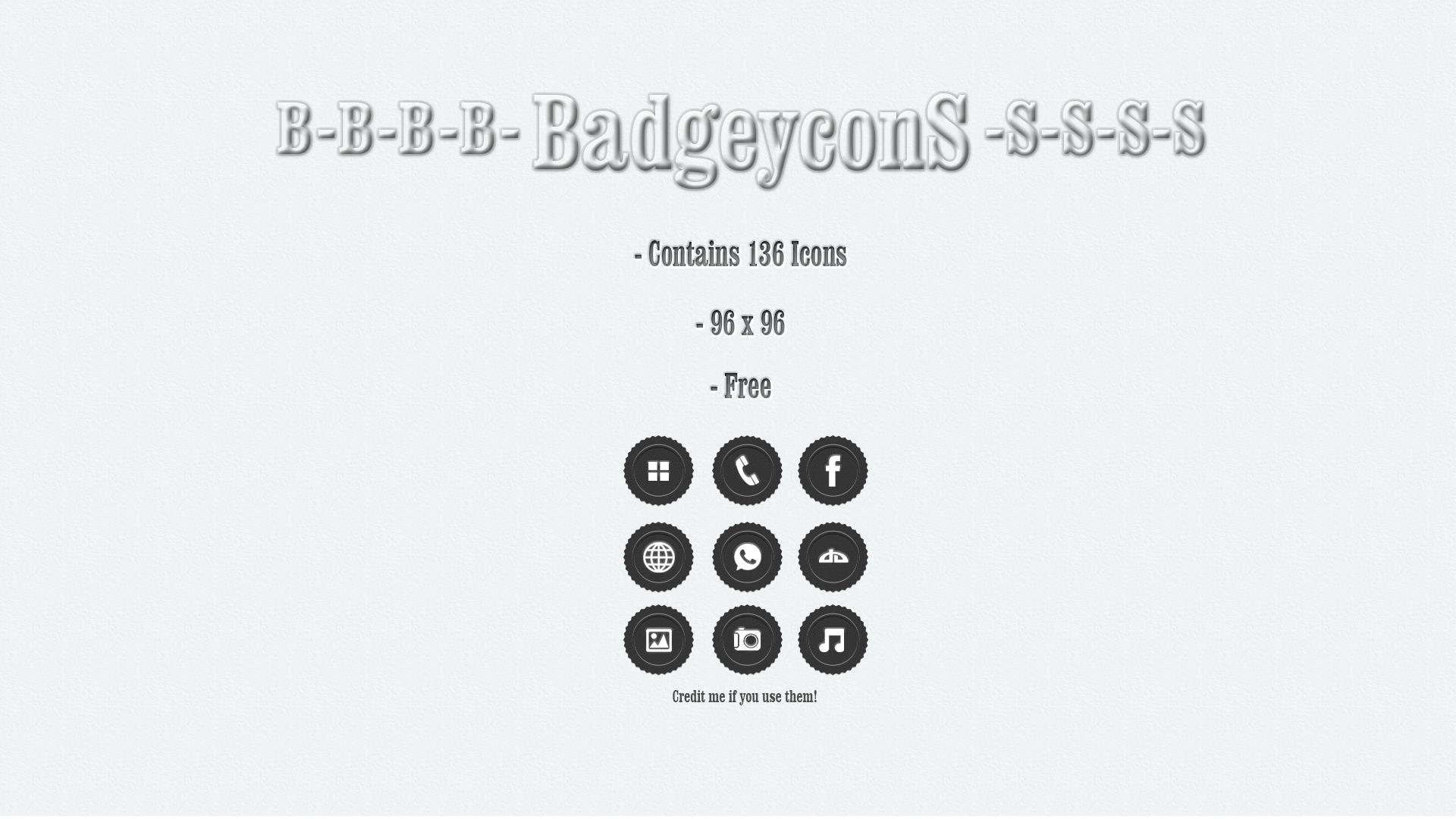 Badgeycons by StressSyndrom