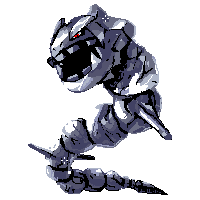 [Day 17] Steel: Steelix by Vultureen