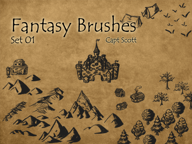 Fantasy Brush Pack 01