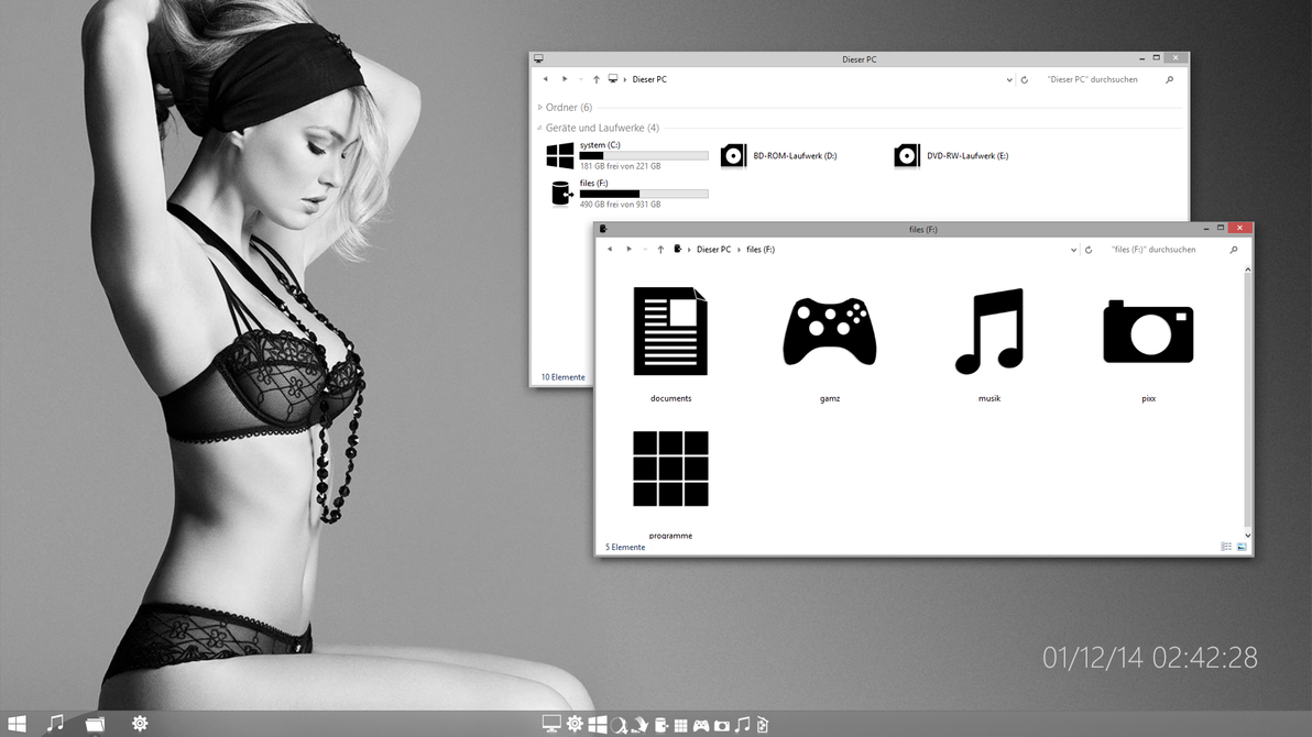 Soft7 mod theme for Win7