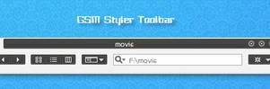 GSM Styler Toolbar