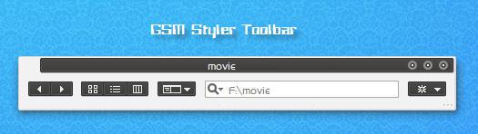 GSM Styler Toolbar by longcdn